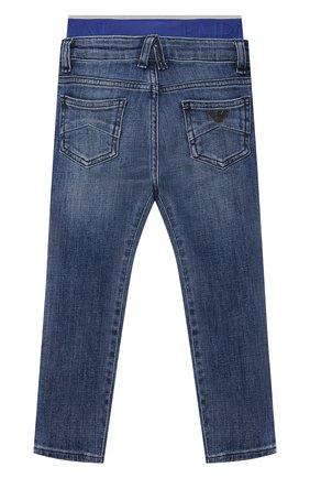 Детские джинсы EMPORIO ARMANI синего цвета, арт. 3K4J17/4D2JZ   Фото 2