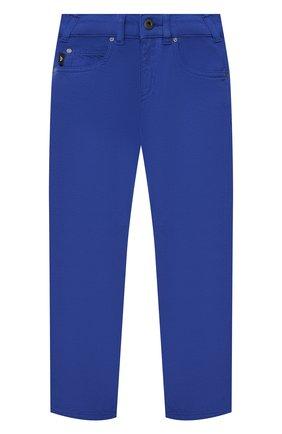 Детские джинсы EMPORIO ARMANI синего цвета, арт. 3K4J45/3N4FZ   Фото 1