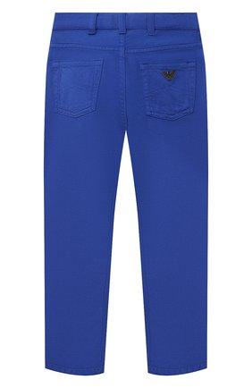 Детские джинсы EMPORIO ARMANI синего цвета, арт. 3K4J45/3N4FZ   Фото 2