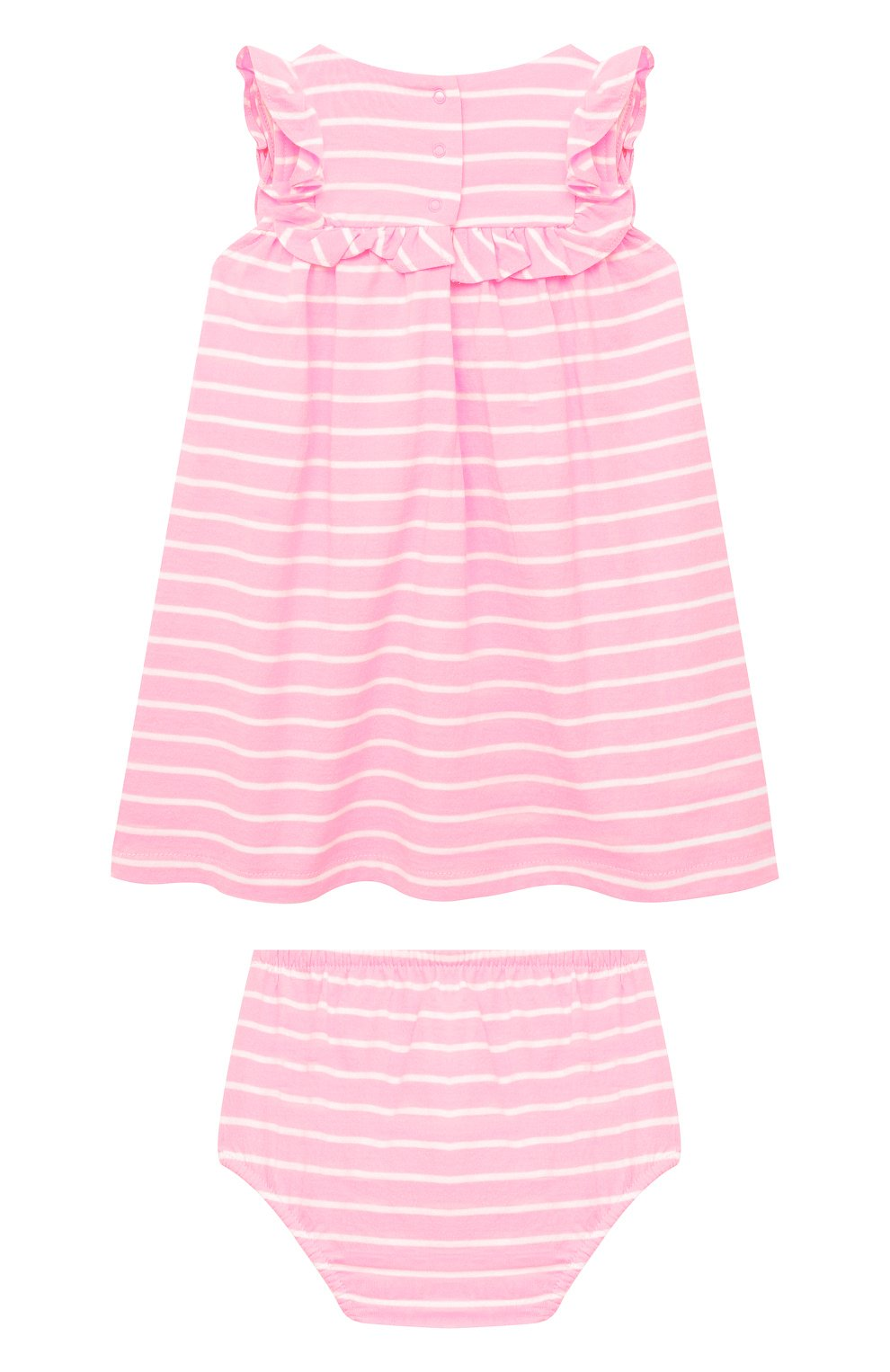 Женский комплект из платья и шорт POLO RALPH LAUREN розового цвета, арт. 310833390   Фото 2