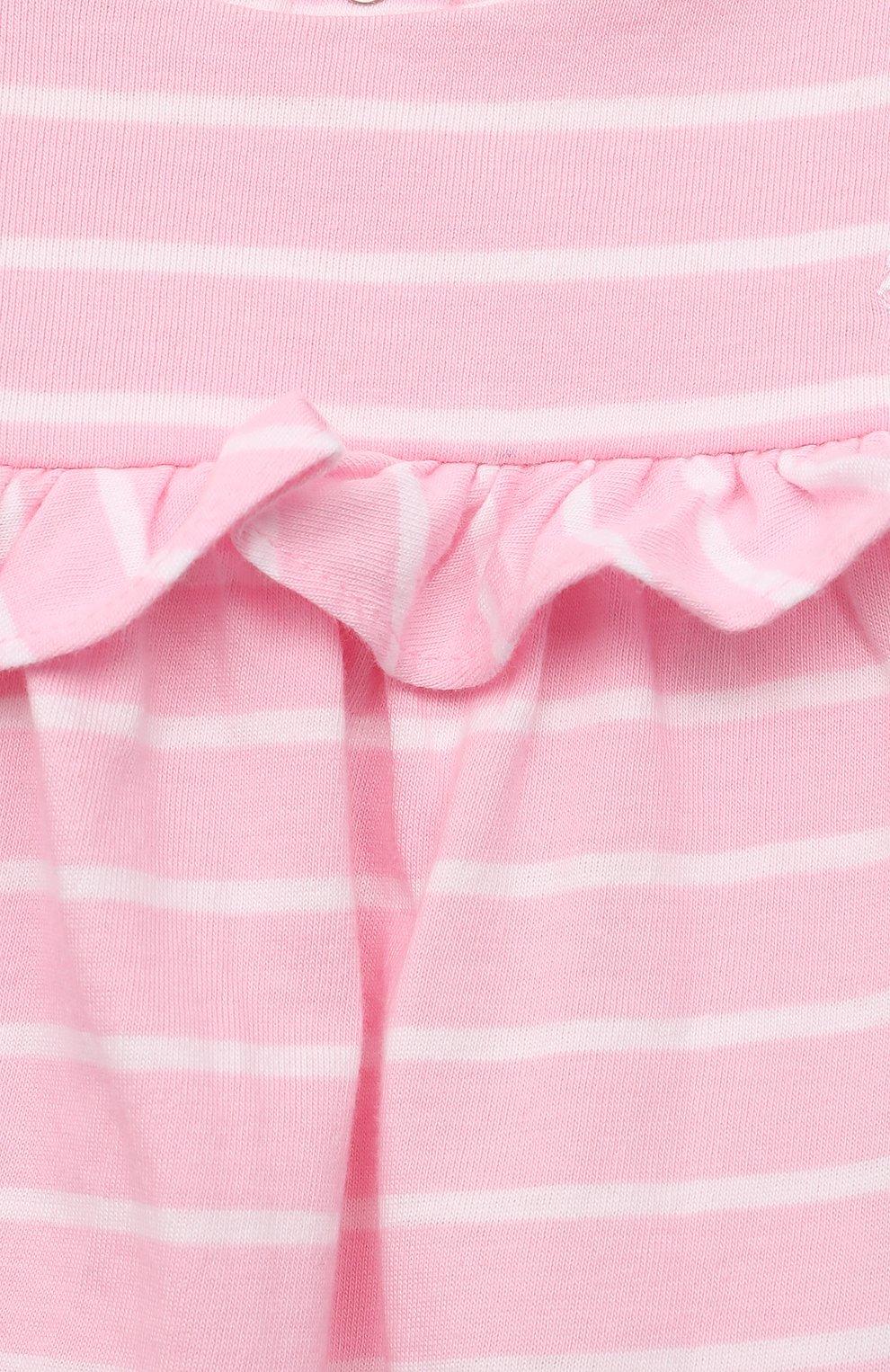 Женский комплект из платья и шорт POLO RALPH LAUREN розового цвета, арт. 310833390   Фото 3