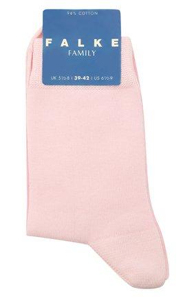 Детские хлопковые носки FALKE розового цвета, арт. 10645 | Фото 1