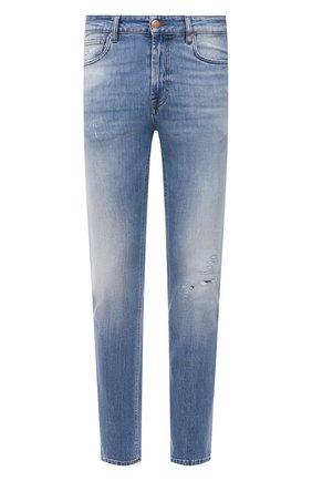 Мужские джинсы DON THE FULLER синего цвета, арт. DHS1/BRIST0L/DTF/77SCSS701 | Фото 1