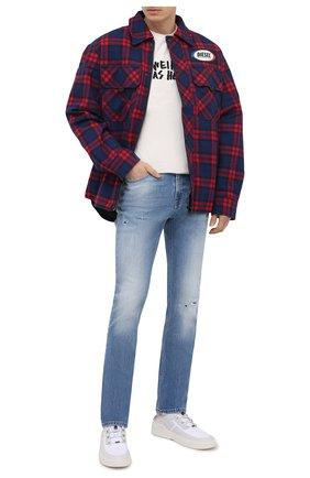 Мужские джинсы DON THE FULLER синего цвета, арт. DHS1/BRIST0L/DTF/77SCSS701 | Фото 2