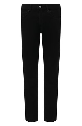 Мужские джинсы DON THE FULLER черного цвета, арт. DHS1/SE0UL/DTF/CKSS725   Фото 1 (Силуэт М (брюки): Прямые; Материал внешний: Хлопок; Кросс-КТ: Деним; Длина (брюки, джинсы): Стандартные; Стили: Кэжуэл)