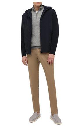 Мужская утепленная куртка LORO PIANA темно-синего цвета, арт. FAL5182 | Фото 2