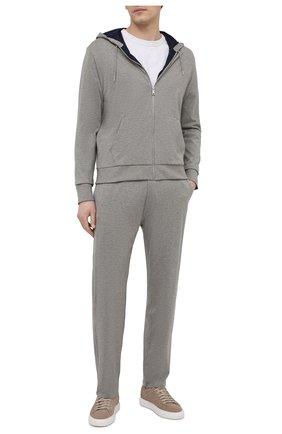 Мужские хлопковые брюки RALPH LAUREN серого цвета, арт. 790729489 | Фото 2
