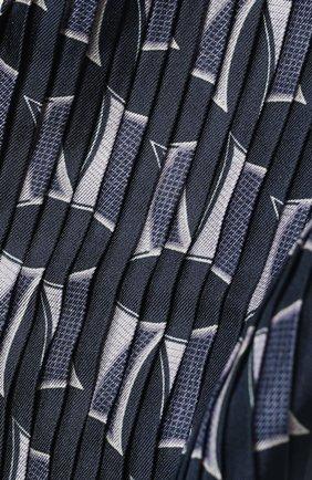 Мужской шелковый шарф GIORGIO ARMANI синего цвета, арт. 745106/1P106 | Фото 2