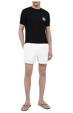 Мужские плавки-шорты RALPH LAUREN белого цвета, арт. 790828915 | Фото 2