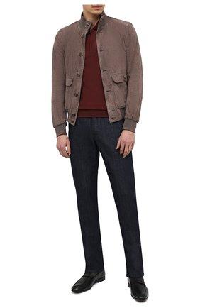 Мужские кожаные лоферы TOD'S черного цвета, арт. XXM51B0EB00D90 | Фото 2