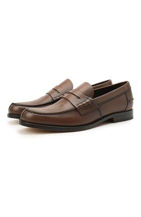 Мужские кожаные пенни-лоферы TOD'S коричневого цвета, арт. XXM26C0C050D9C | Фото 1