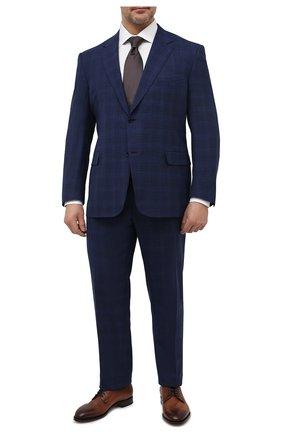 Мужской шерстяной костюм CANALI темно-синего цвета, арт. 11280/19/BR03216/60-64   Фото 1