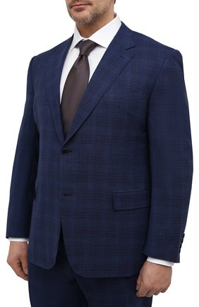 Мужской шерстяной костюм CANALI темно-синего цвета, арт. 11280/19/BR03216/60-64   Фото 2