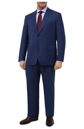 Мужской шерстяной костюм BRIONI синего цвета, арт. RAH00L/P0A07/PARLAMENT0 | Фото 1