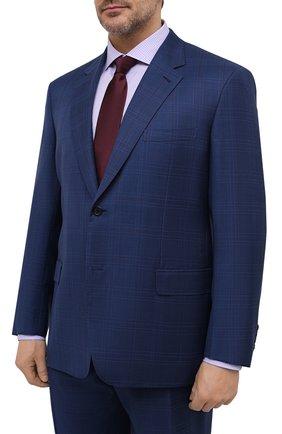 Мужской шерстяной костюм BRIONI синего цвета, арт. RAH00L/P0A07/PARLAMENT0 | Фото 2