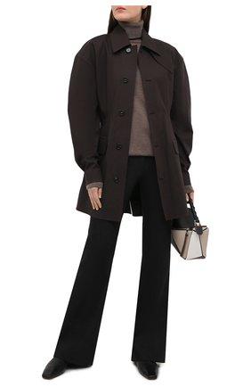 Женская кашемировая водолазка RALPH LAUREN серого цвета, арт. 919/IXQ15/FXQ15   Фото 2