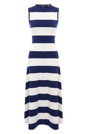 Женское платье POLO RALPH LAUREN разноцветного цвета, арт. 211827941 | Фото 1