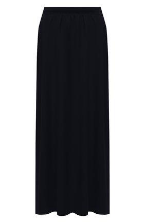 Женская кашемировая юбка LORO PIANA темно-синего цвета, арт. FAL5211 | Фото 1