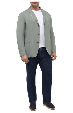 Мужской пиджак GIORGIO ARMANI светло-зеленого цвета, арт. 1SGGG0MK/T00AB   Фото 2