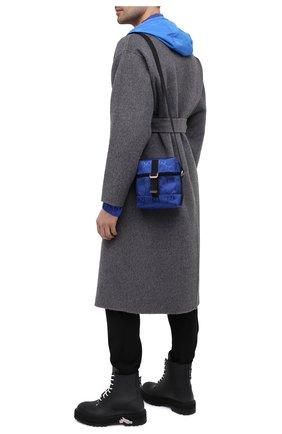 Мужская текстильная сумка off the grid GUCCI синего цвета, арт. 643858/H9HKN | Фото 2