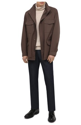 Мужские кожаные дерби TOD'S черного цвета, арт. XXM04E00C20LYG | Фото 2