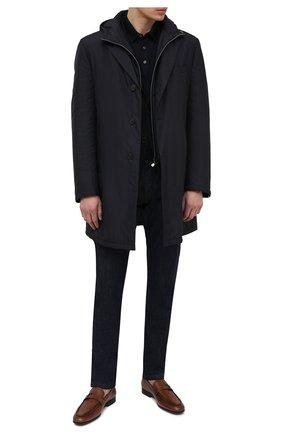 Мужские кожаные лоферы TOD'S светло-коричневого цвета, арт. XXM51B0EB00D9C   Фото 2