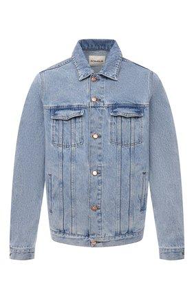 Мужская джинсовая куртка DON THE FULLER синего цвета, арт. DHS1/LI0NE/DTF/CLBSS778 | Фото 1