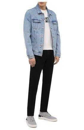 Мужская джинсовая куртка DON THE FULLER синего цвета, арт. DHS1/LI0NE/DTF/CLBSS778 | Фото 2