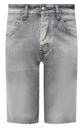 Мужские джинсовые шорты DON THE FULLER светло-серого цвета, арт. DHS1/SE0UL SH0RT/DTF/72GRSS761 | Фото 1