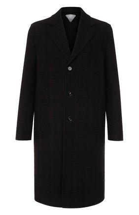 Мужской шерстяное пальто BOTTEGA VENETA темно-коричневого цвета, арт. 647396/V0BL0 | Фото 1