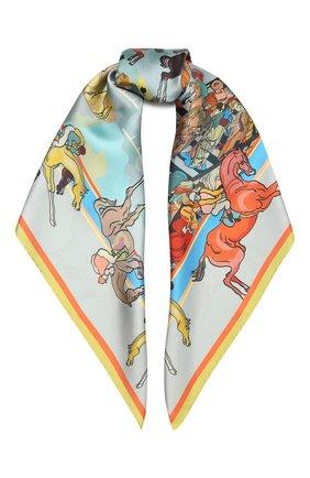 Женский шелковый платок horse racing RADICAL CHIC разноцветного цвета, арт. 550653.07.02   Фото 1