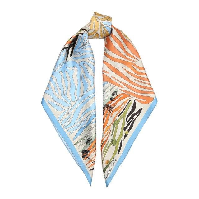 Шелковый платок Savannah Radical Chic