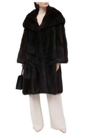 Женская шуба из меха соболя ZILLI коричневого цвета, арт. WAS-ZC0N3-ZIB00/0001 | Фото 2