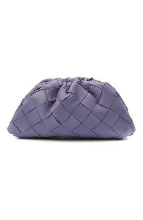 Женские кожаный кошелек BOTTEGA VENETA сиреневого цвета, арт. 577816/VCPP1   Фото 1