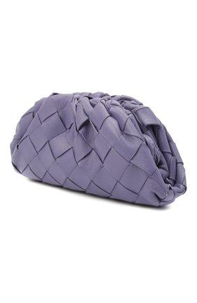 Женские кожаный кошелек BOTTEGA VENETA сиреневого цвета, арт. 577816/VCPP1   Фото 2