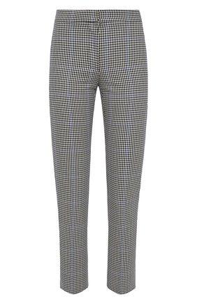 Женские брюки ALEXANDER MCQUEEN серого цвета, арт. 640016/QEACH | Фото 1