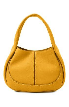 Женская сумка aou TOD'S желтого цвета, арт. XBWA0US0200UCA   Фото 1