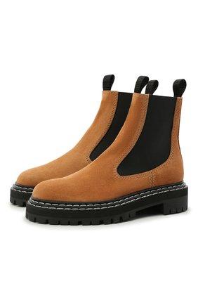 Замшевые ботинки Lug Sole | Фото №1