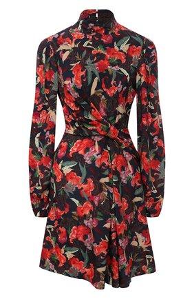 Женское шелковое платье SALONI разноцветного цвета, арт. 10469-1536 | Фото 1
