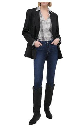 Женские джинсы PAIGE синего цвета, арт. 1563F71-3128 | Фото 2