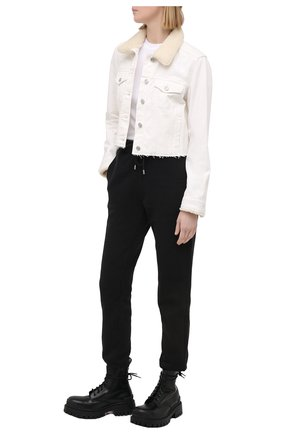 Женская джинсовая куртка PAIGE белого цвета, арт. 6359387-2420 | Фото 2