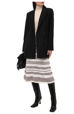 Женская юбка BALLY белого цвета, арт. L4LR264K-7S342/181 | Фото 2