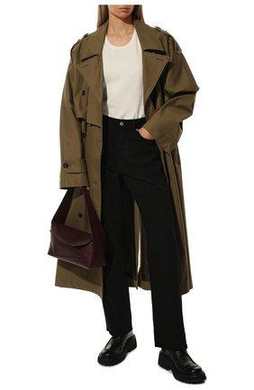 Женская кожаные дерби MARSELL черного цвета, арт. MW6035/PELLE VITELL0 | Фото 2