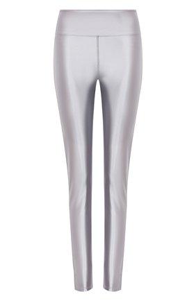 Женские леггинсы HEROINE SPORT серого цвета, арт. HS-4-108/FALL 2020 | Фото 1 (Женское Кросс-КТ: Леггинсы-спорт; Длина (брюки, джинсы): Стандартные; Материал внешний: Синтетический материал; Кросс-КТ: Спорт)