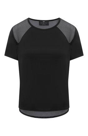 Женская футболка HEROINE SPORT черного цвета, арт. HS-2-104/FALL 2020 | Фото 1