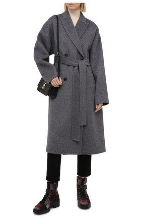 Женские текстильные ботинки TOD'S серого цвета, арт. XXW08D0EG40PXB | Фото 2