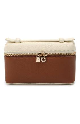 Женская поясная сумка LORO PIANA коричневого цвета, арт. FAL6547 | Фото 1