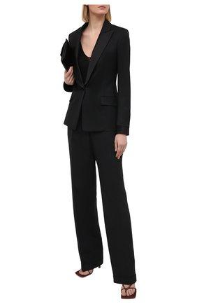 Женский шерстяной жакет TOM FORD черного цвета, арт. GI2814-FAX733   Фото 2