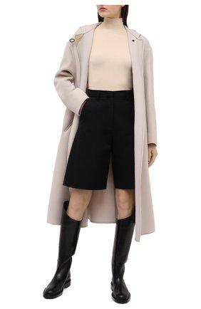 Женское шерстяное пальто ISABEL MARANT кремвого цвета, арт. MA0919-21P005I/FHACENE | Фото 2