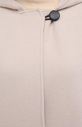 Женское шерстяное пальто ISABEL MARANT кремвого цвета, арт. MA0919-21P005I/FHACENE | Фото 5